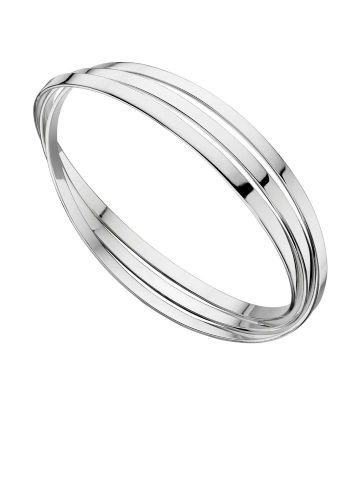 Sterling Silver Russian Wedding Bangle